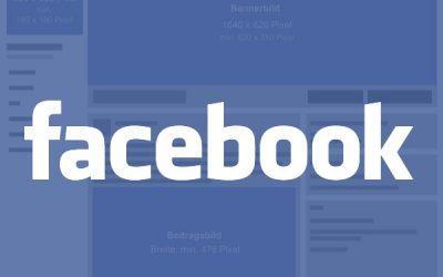 Facebook: Text- und Bildvorgaben Unternehmensseite