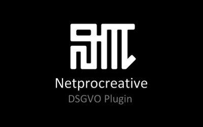Netprocreative DSGVO Plugin: Funktionsübersicht