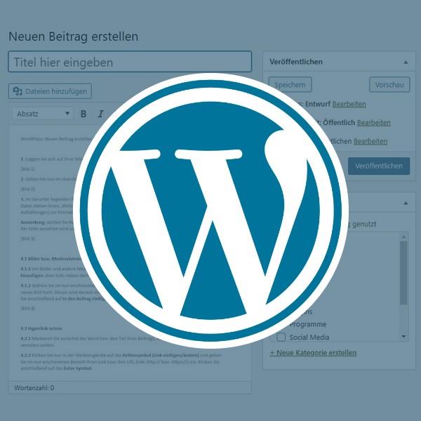 WordPress: Neuen Beitrag erstellen (Classic Editor)